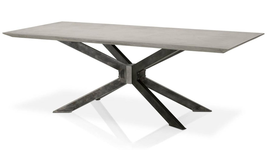 Zuri Furniture In Most Up To Date 87 Inch Dining Tables (View 19 of 20)