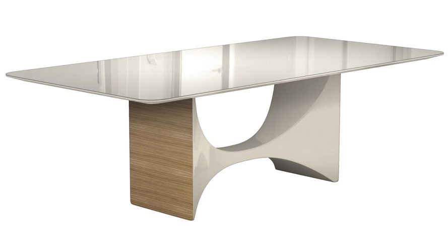 Zuri Furniture Pertaining To Well Known Oak Glass Dining Tables (View 20 of 20)