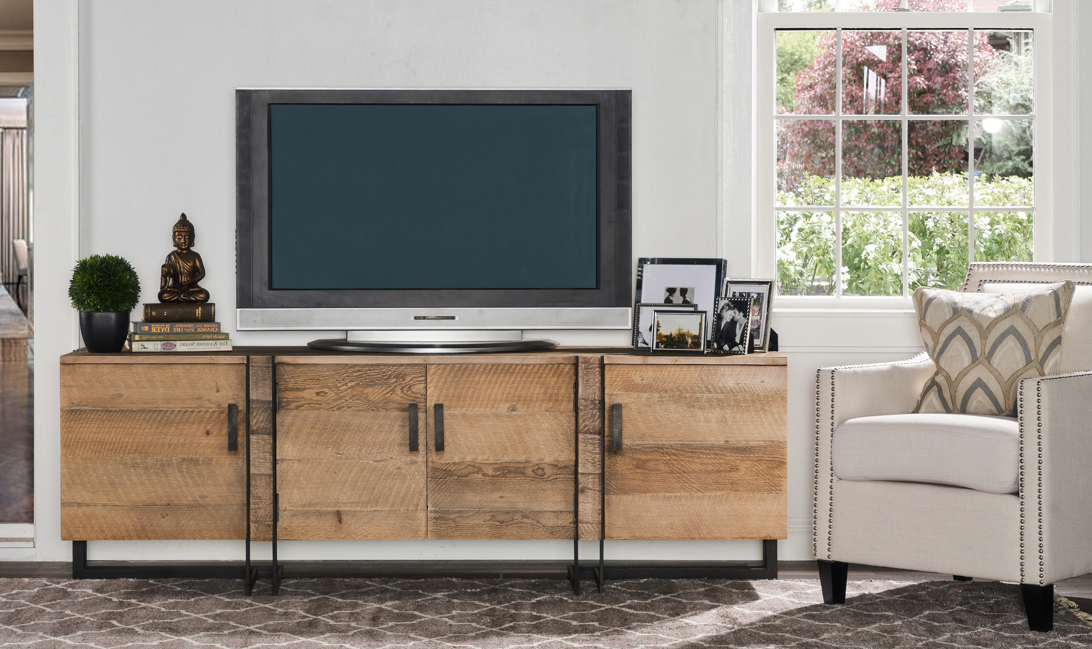 "17 Stories Walton Tv Stand For Tvs Up To 78"" & Reviews 