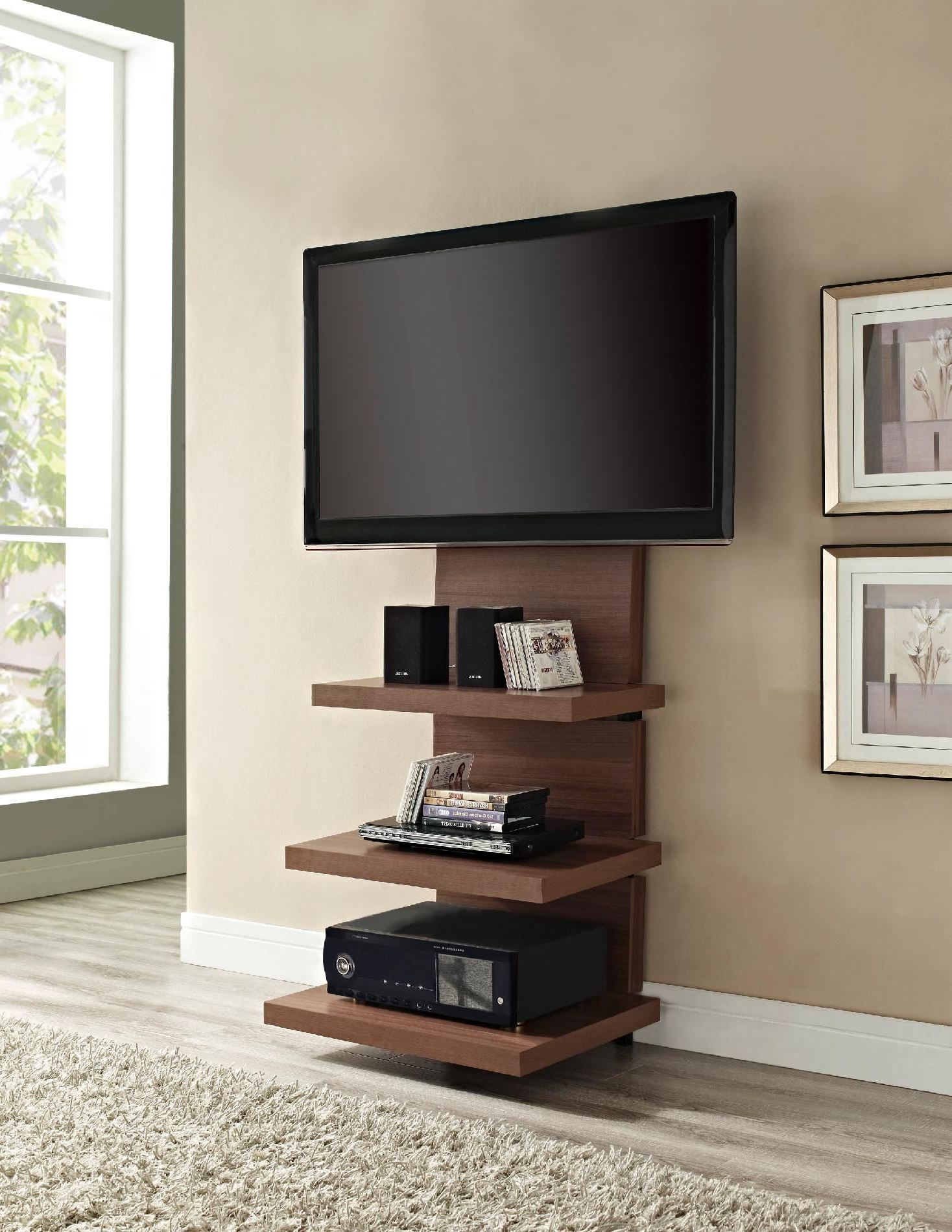 18 Chic And Modern Tv Wall Mount Ideas For Living Room | Dream Home Throughout Century Sky 60 Inch Tv Stands (View 3 of 20)