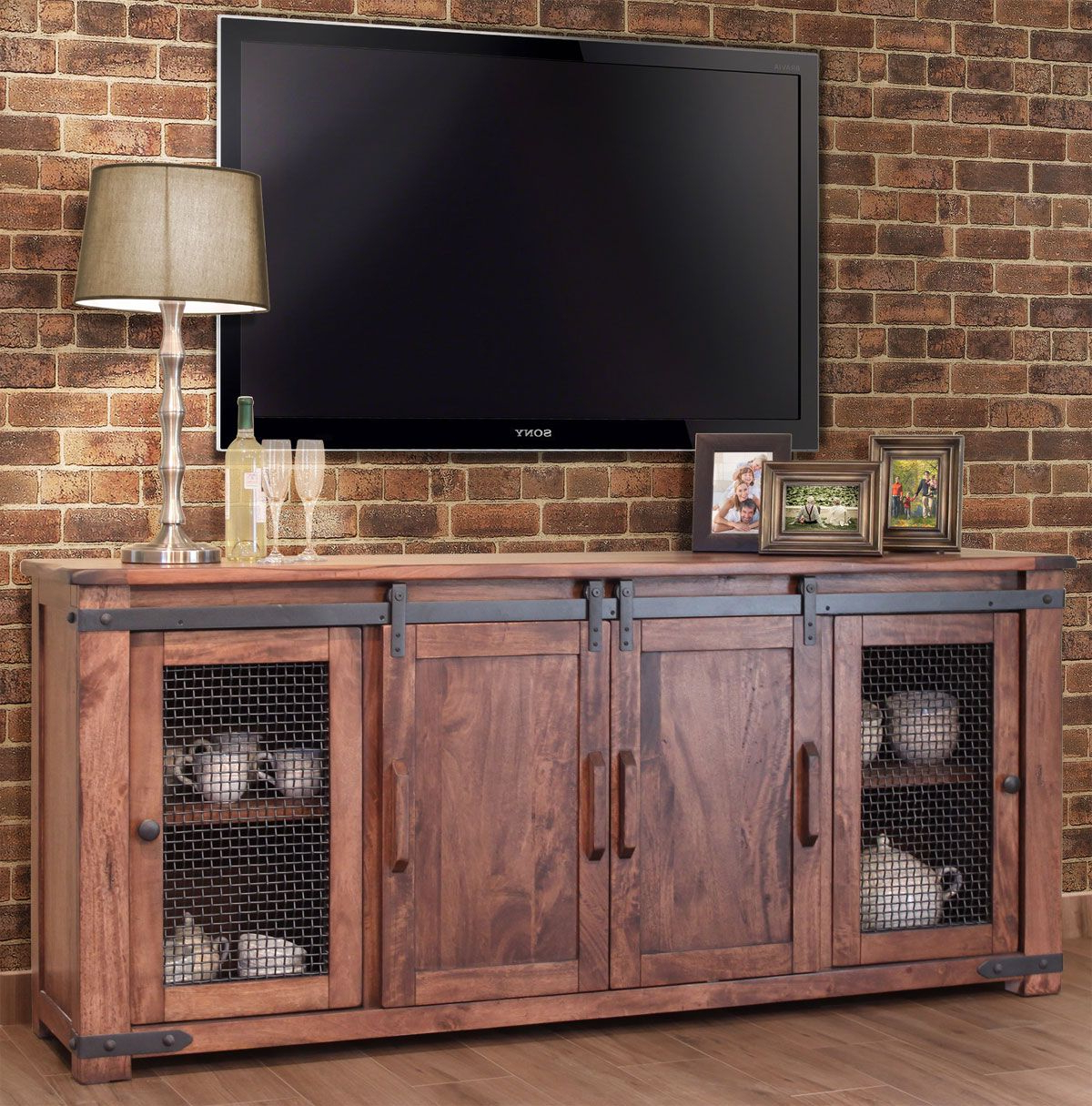 19 Amazing Diy Tv Stand Ideas You Can Build Right Now | Rustic In Laurent 50 Inch Tv Stands (View 4 of 20)