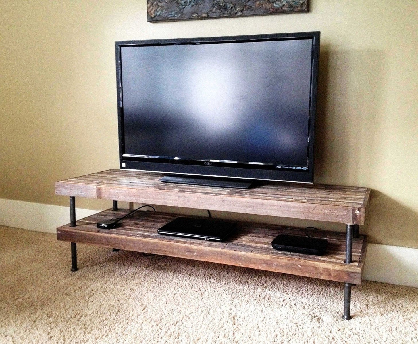 19 Best Diy Entertainment Center Ideas For Inspiration [watch More Throughout Kilian Black 60 Inch Tv Stands (View 6 of 20)