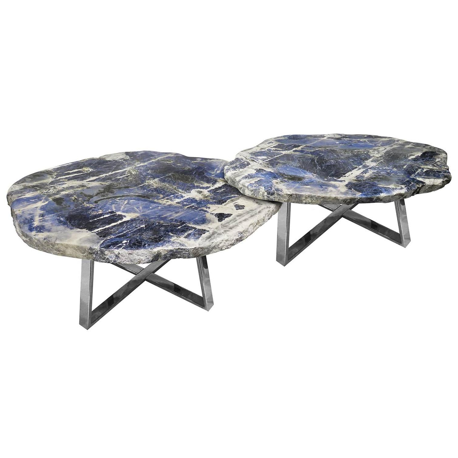 1Stdibs: Antiques, Vintage And Mid Century Modern Furniture, Jewelry Regarding Mix Agate Metal Frame Console Tables (Gallery 19 of 20)