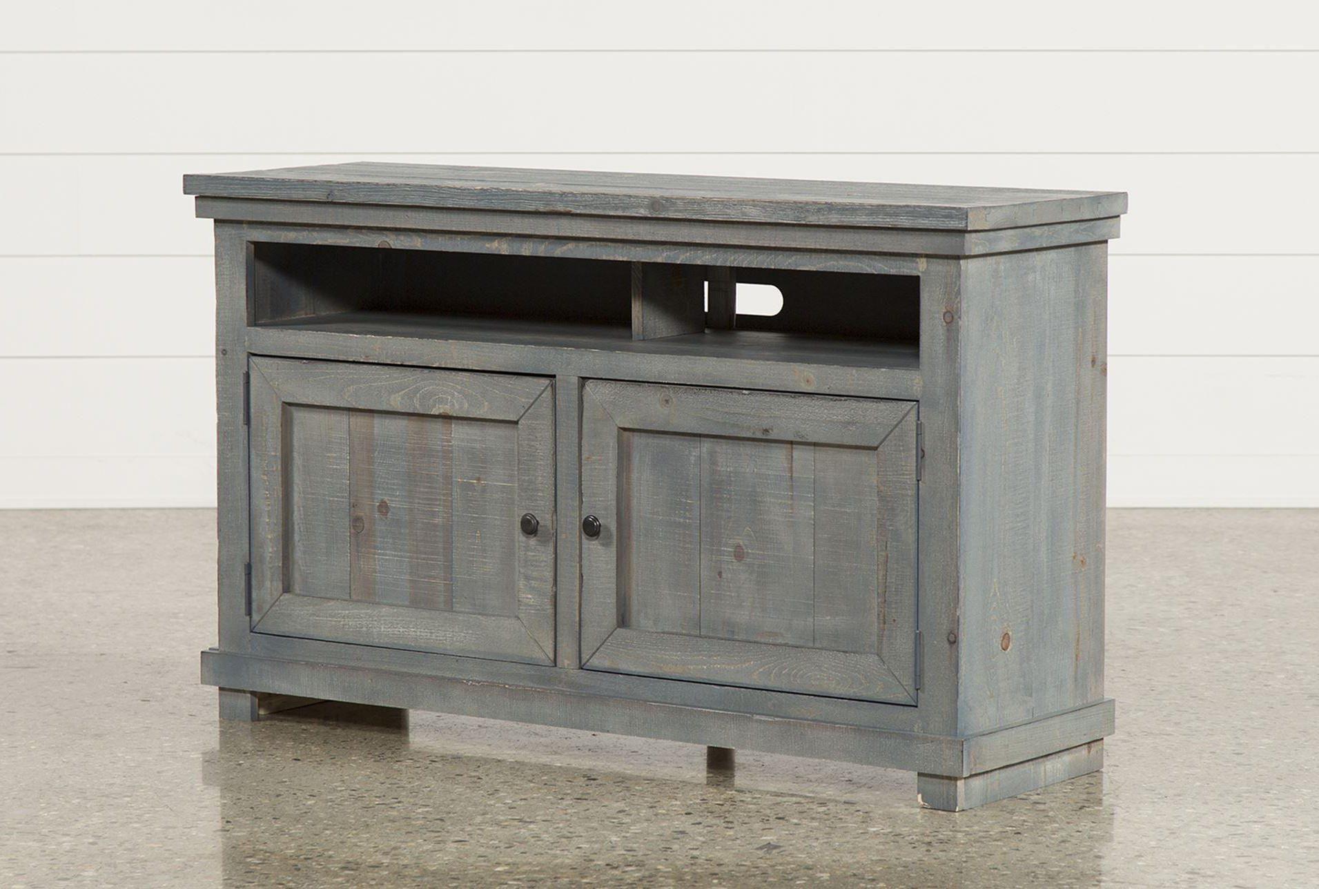 20 Stunning Blue Tv Console Decorating Ideas | Cakestandlady Within Sinclair Blue 64 Inch Tv Stands (View 2 of 20)