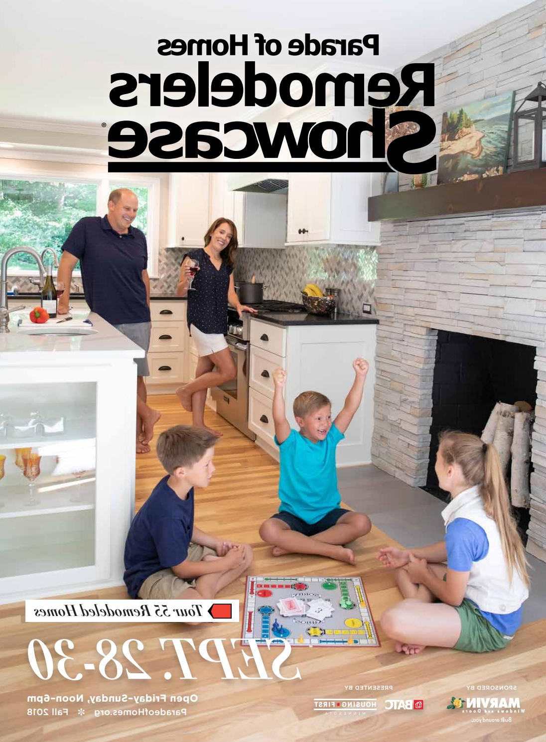 2018 Fall Parade Of Homes Remodelers Showcase® Guidebookbatc Intended For Marvin Rustic Natural 60 Inch Tv Stands (Gallery 20 of 20)