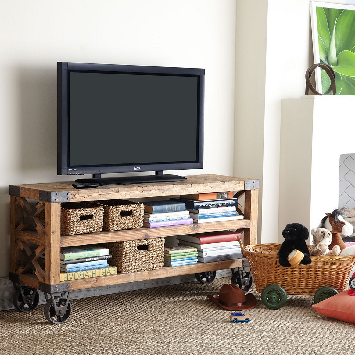 21+ Diy Tv Stand Ideas For Your Weekend Home Project Intended For Tobias Media Console Tables (View 15 of 20)