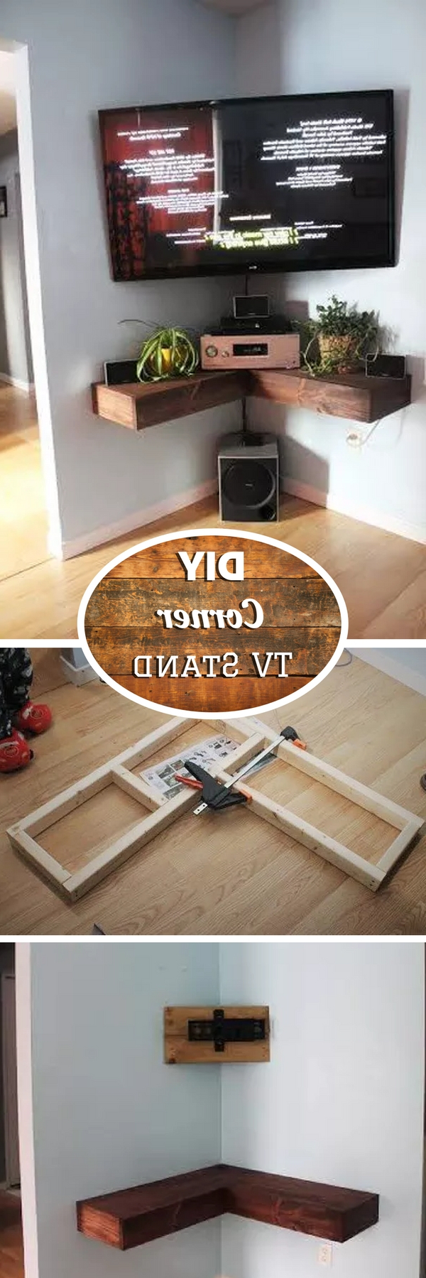 21+ Diy Tv Stand Ideas For Your Weekend Home Project Intended For Tobias Media Console Tables (View 11 of 20)