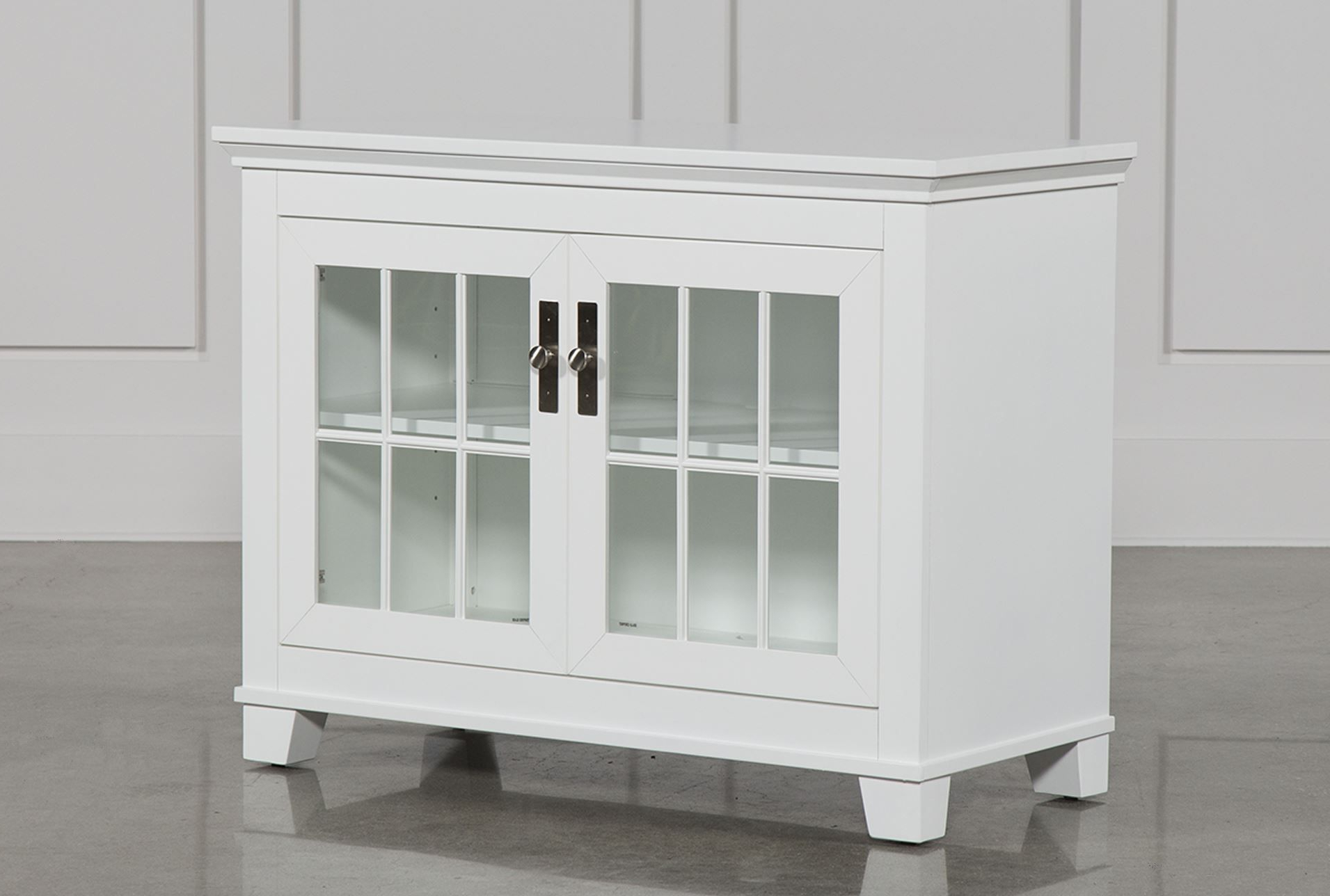 295 Living Hamden White 43 Inch Tv Console | Playroom | Pinterest With Sinclair White 54 Inch Tv Stands (View 10 of 20)
