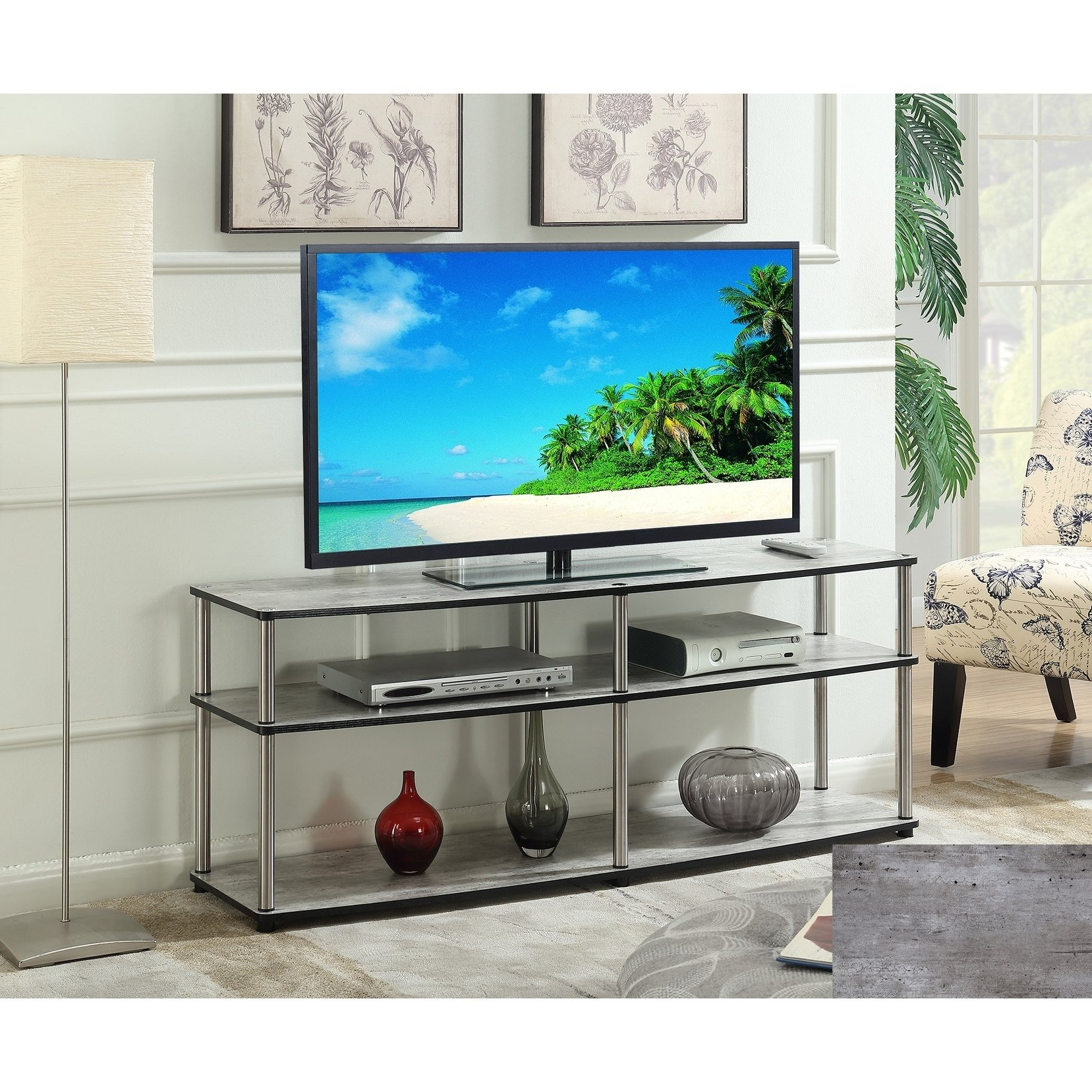 3 Tv Stands & Entertainment Centers For Less | Overstock For Rowan 45 Inch Tv Stands (View 2 of 20)