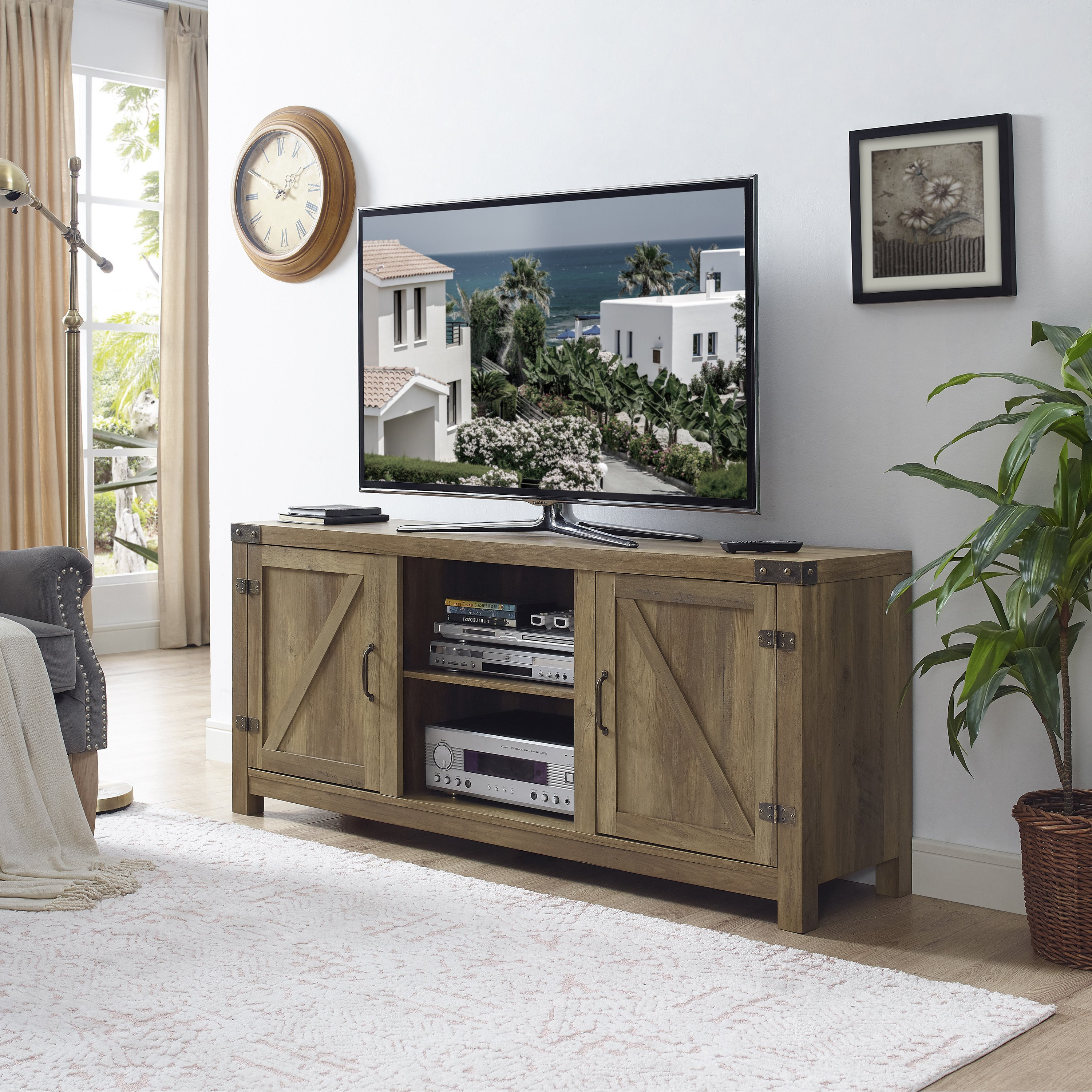 3 Tv Stands & Entertainment Centers For Less | Overstock In Rowan 45 Inch Tv Stands (View 13 of 20)