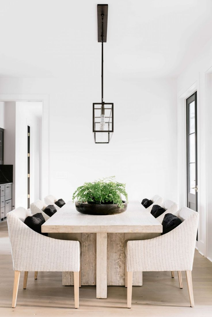 412 Best Dining Room Images On Pinterest | Dining Rooms, Dining Room Inside Parsons Grey Solid Surface Top & Brass Base 48x16 Console Tables (View 12 of 19)