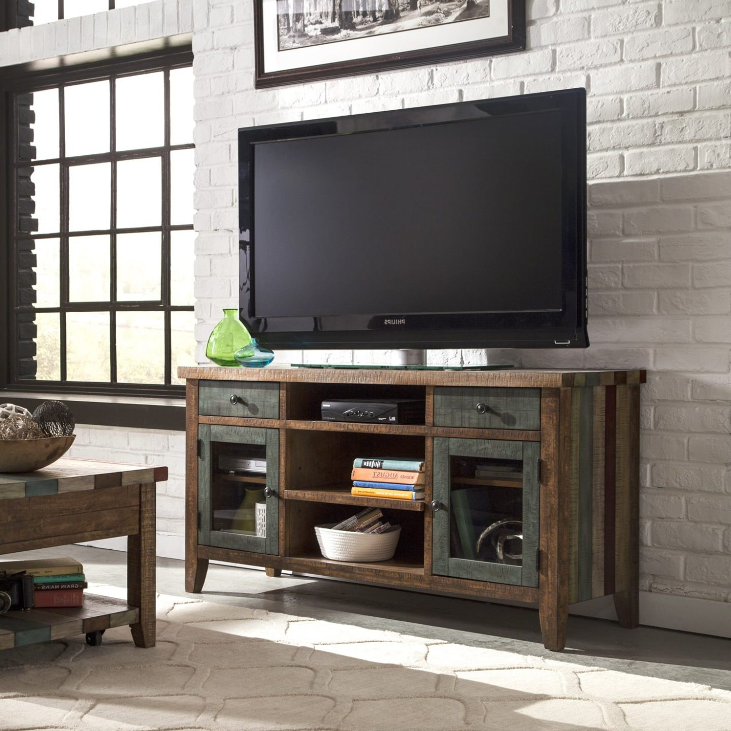 6 Tips For Buying A Great Tv Stand For Your Home – Overstock Inside Century White 60 Inch Tv Stands (View 2 of 20)
