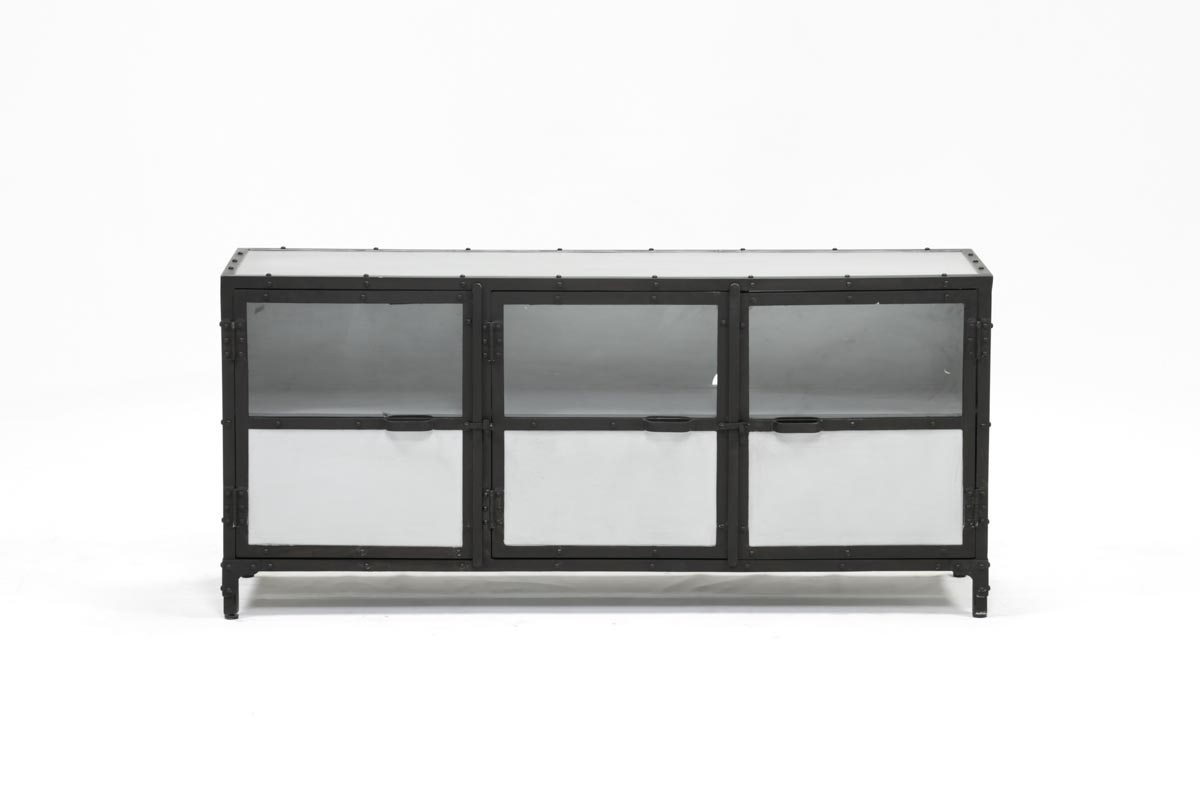 60 Inch Metal Console | Living Spaces Within Mayfield Plasma Console Tables (View 2 of 20)