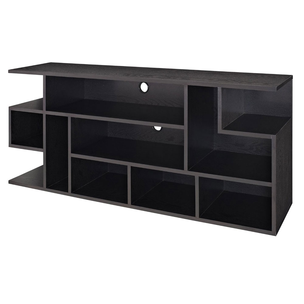 60 Inch Wood Media Console In Tv Stands For Jaxon 65 Inch Tv Stands (View 14 of 20)