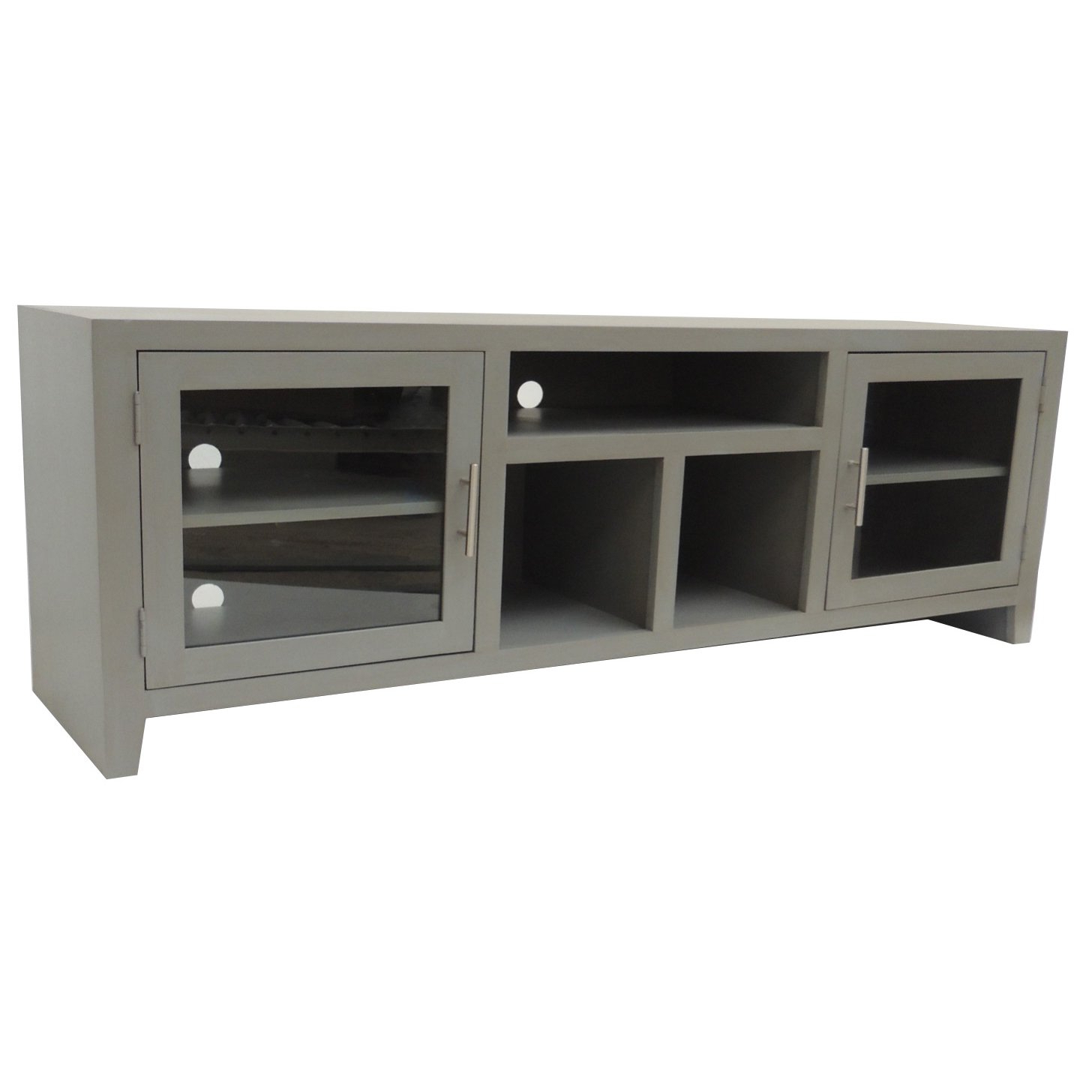 65 Inch Gray Tv Stand | Rc Willey Furniture Store Within Draper 62 Inch Tv Stands (Gallery 3 of 20)