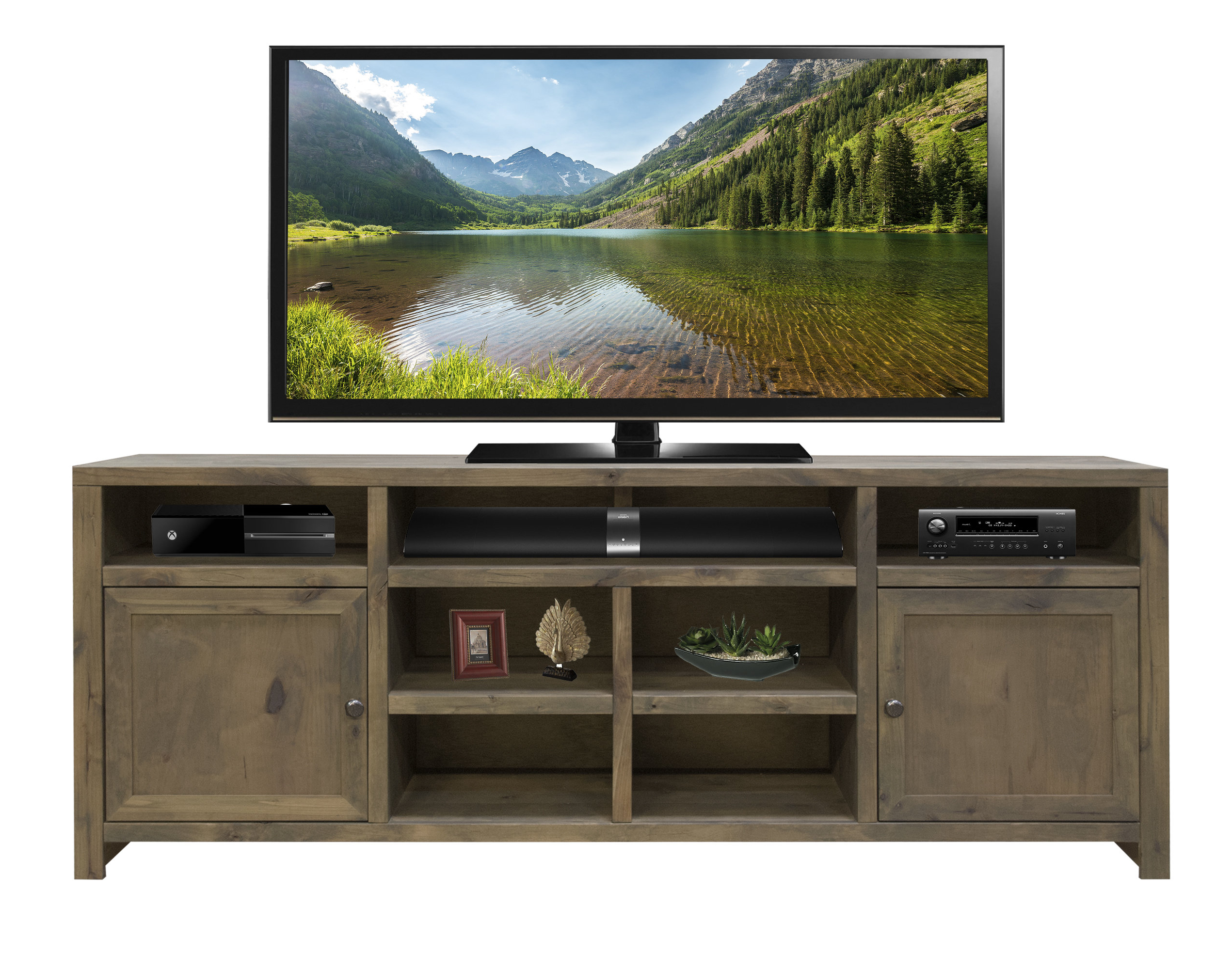70 Inch Tv Stands | Joss & Main Intended For Bale Rustic Grey 82 Inch Tv Stands (View 3 of 20)