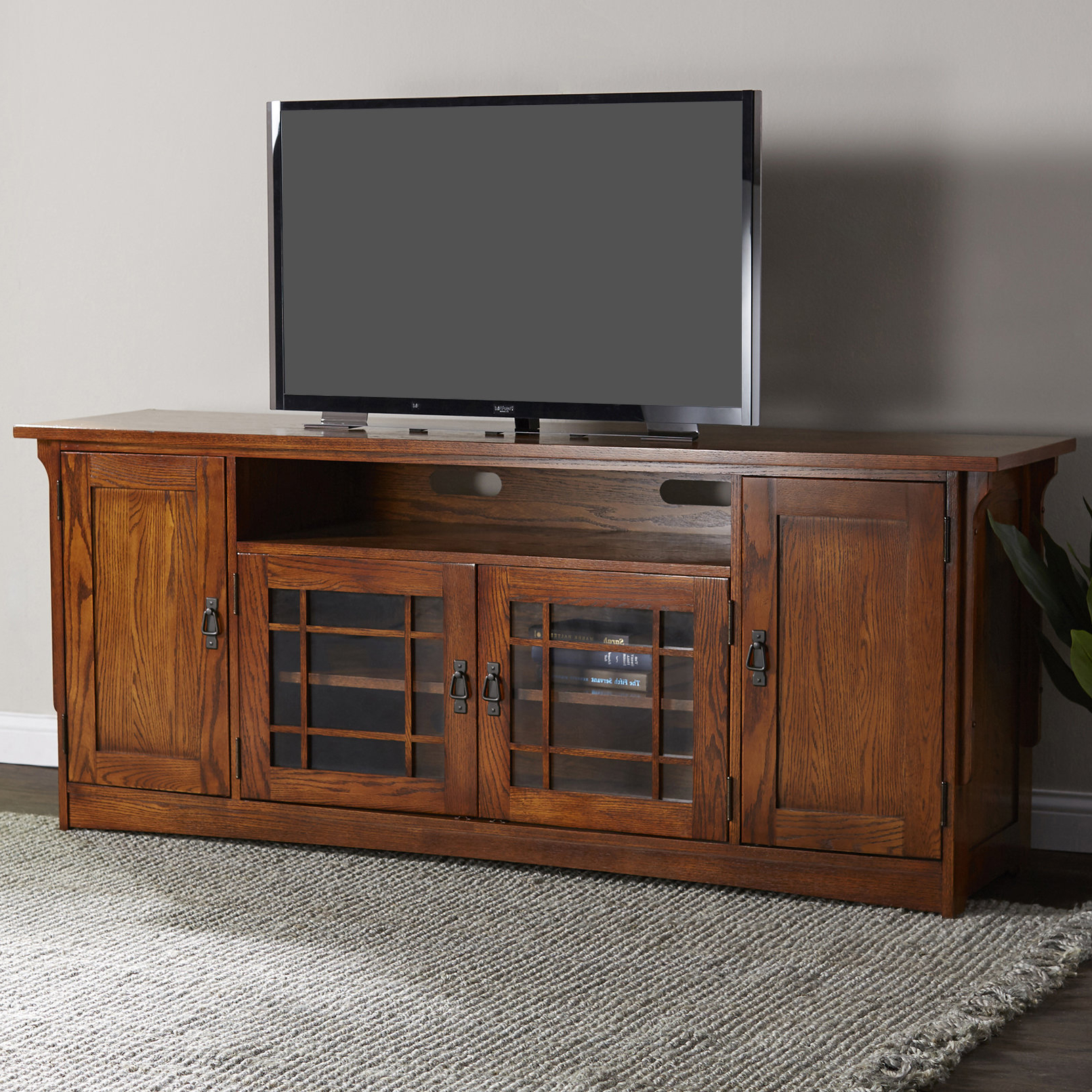 70 Inches And Larger Tv Stands | Birch Lane With Regard To Walton 74 Inch Open Tv Stands (View 15 of 20)