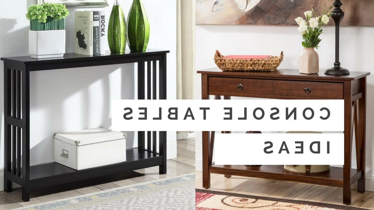 70+ Stunning Console Table Ideas – The Perfect Table For Entryway With Regard To Switch Console Tables (View 1 of 20)