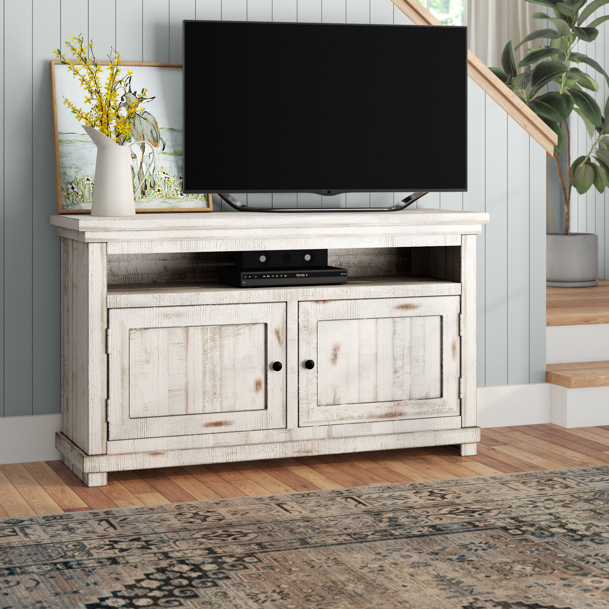 72 Inch Tv Stand | Wayfair Intended For Kenzie 60 Inch Open Display Tv Stands (View 7 of 20)