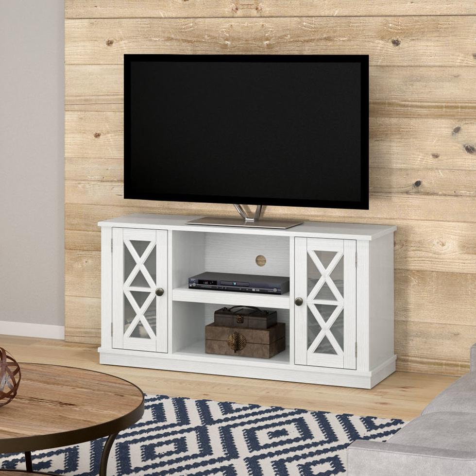72 Inch Tv Stand | Wayfair With Regard To Kenzie 72 Inch Open Display Tv Stands (View 5 of 20)