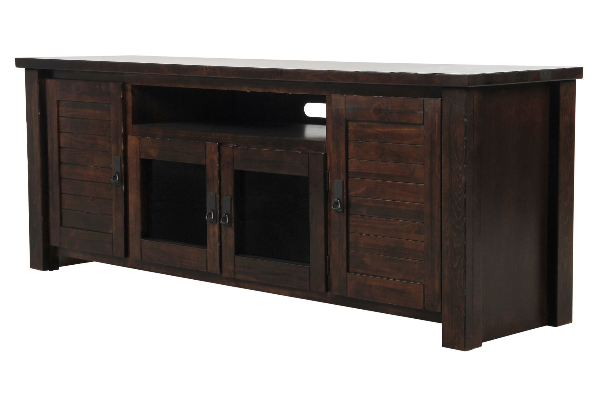 74 Inch Tv Stand, Canyon, Brown | Consoles, Living Rooms And Men Cave For Sinclair White 54 Inch Tv Stands (View 8 of 20)