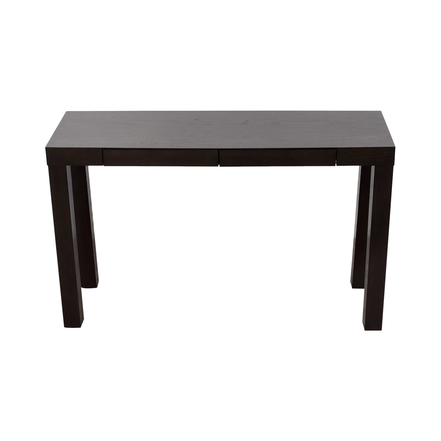 81% Off – Crate & Barrel Crate & Barrel Yukon Wood And Metal Console Throughout Yukon Grey Console Tables (View 13 of 20)