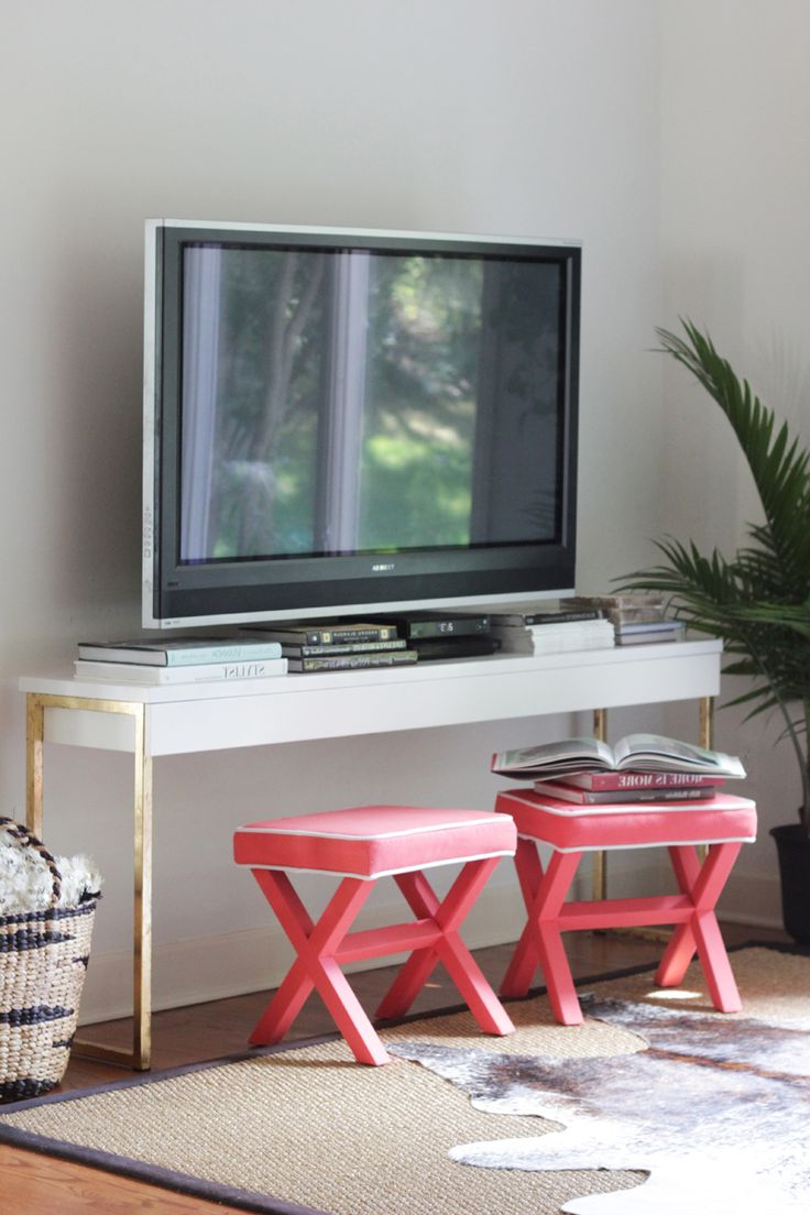 95 Best Apartment Images On Pinterest | Guest Rooms, For The Home With Kilian Black 74 Inch Tv Stands (View 4 of 20)