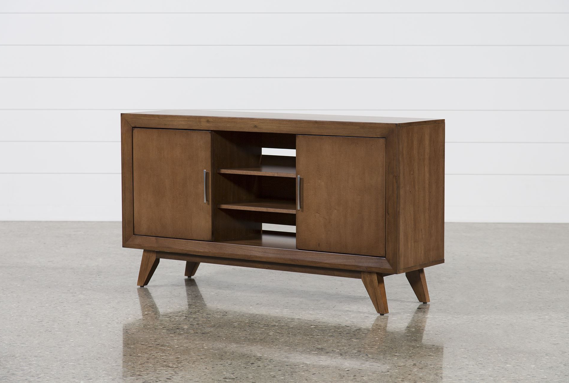 Abbott Chestnut 60 Inch Tv Stand | Abode | Pinterest | Tvs, 60 Inch Within Forma 65 Inch Tv Stands (Gallery 3 of 20)