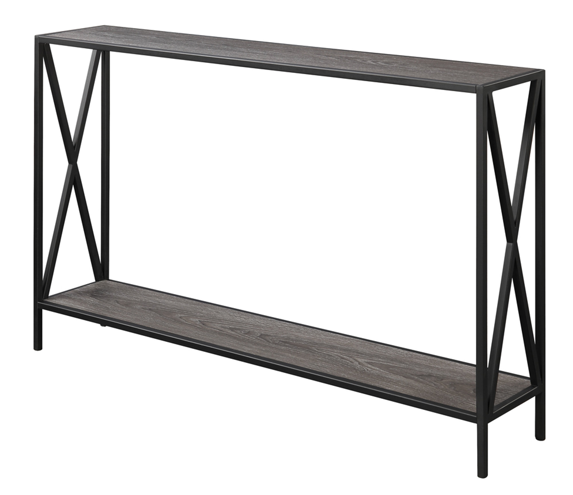 Abbottsmoor Metal Frame Console Table & Reviews | Allmodern With Frame Console Tables (View 2 of 20)
