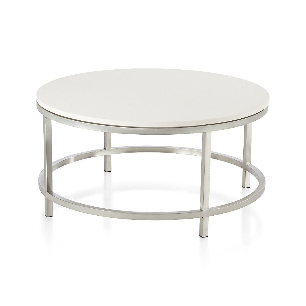About Us | New House | Pinterest | Round Coffee Table, Table And Pertaining To Era Limestone Console Tables (View 1 of 20)