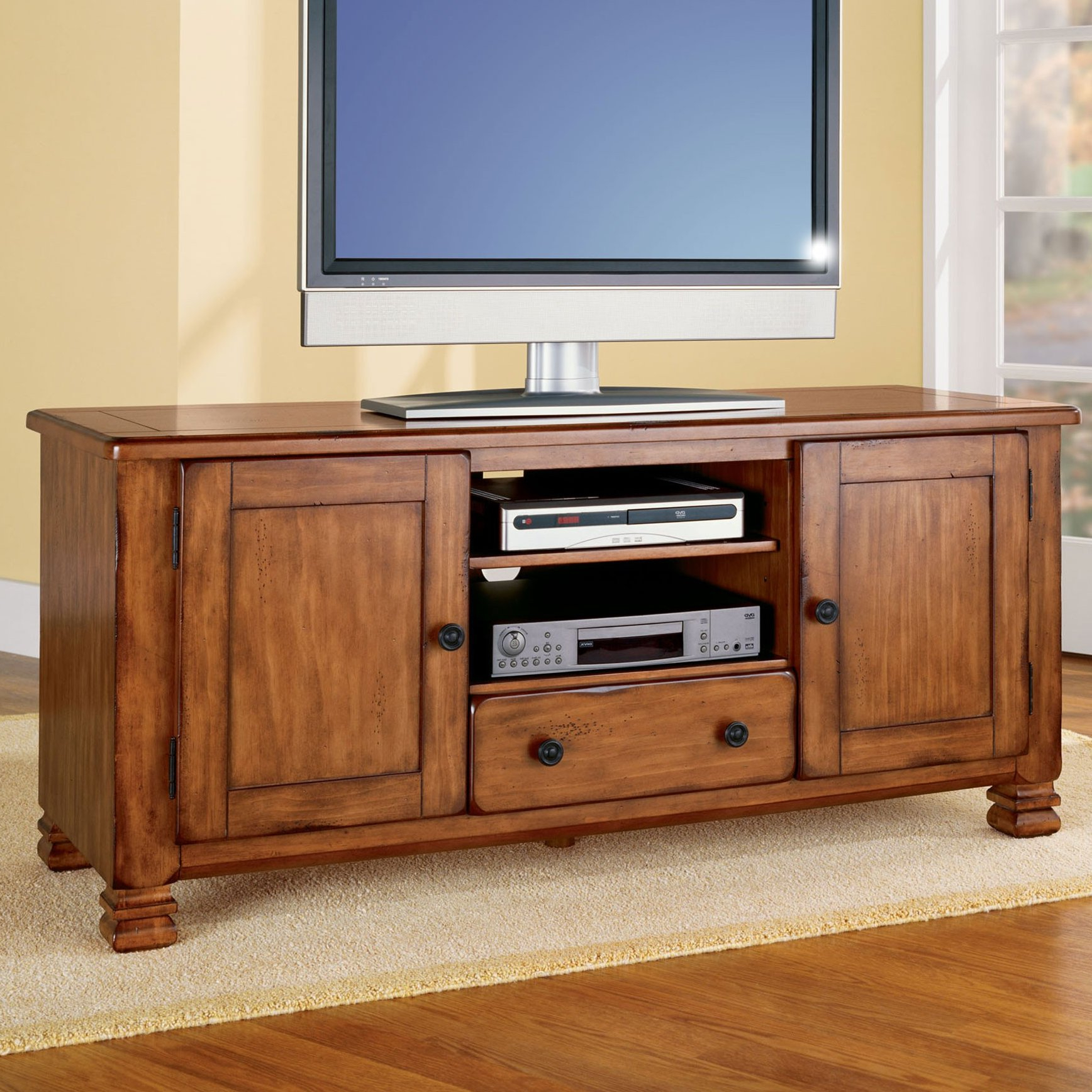 """Alcott Hill Brackenridge Tv Stand For Tvs Up To 55"""" & Reviews 