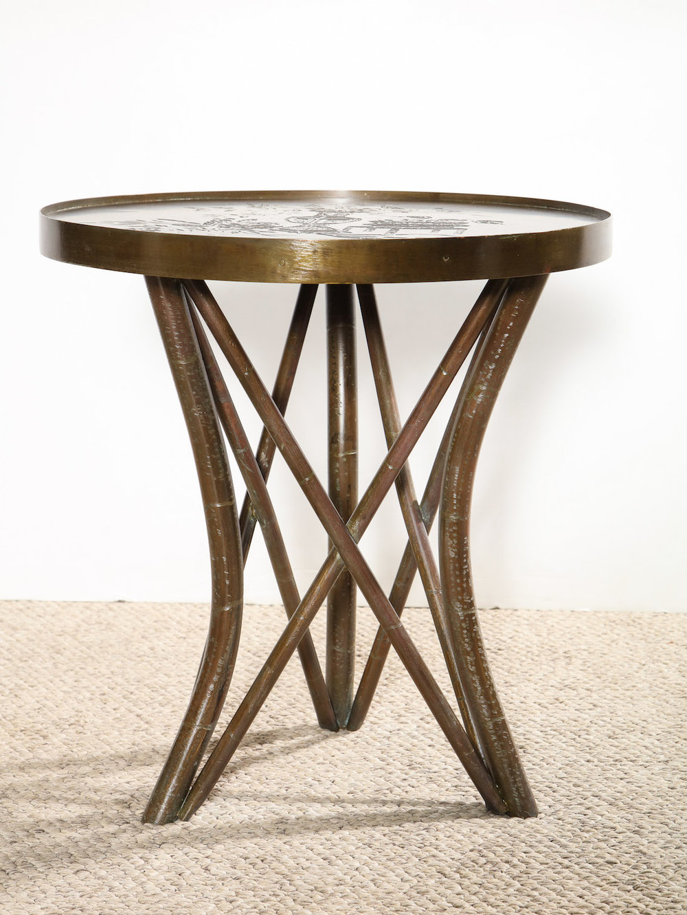 All Products — Donzella Inside Mix Leather Imprint Metal Frame Console Tables (View 7 of 20)