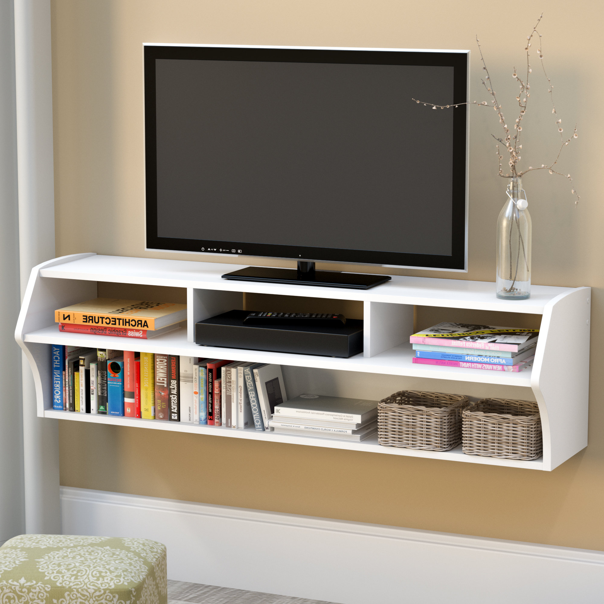 "Andover Mills Reuben Tv Stand For Tvs Up To 60"" & Reviews 