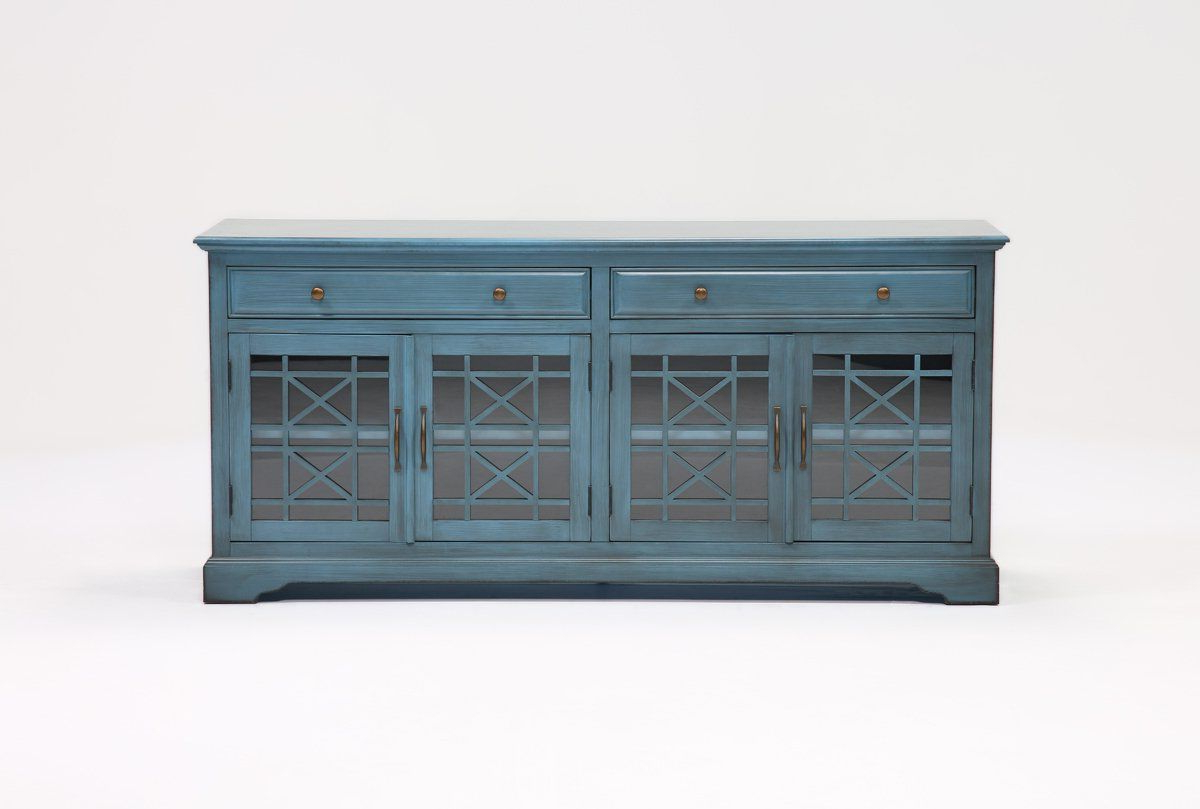 Annabelle Blue 70 Inch Tv Stand In 2018 | Back Room | Pinterest With Annabelle Blue 70 Inch Tv Stands (View 2 of 20)