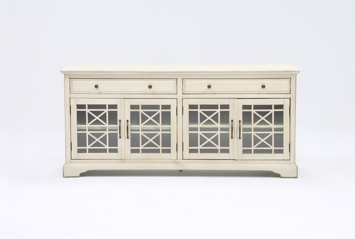 Annabelle Cream 70 Inch Tv Stand | Tv Console Ideas | Pinterest | 70 In Annabelle Cream 70 Inch Tv Stands (Gallery 1 of 20)
