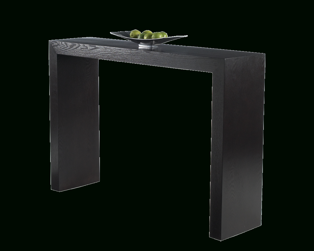 Arch Console Table – Espresso – Console Tables – Occasional Tables In Silviano 60 Inch Iron Console Tables (View 3 of 20)
