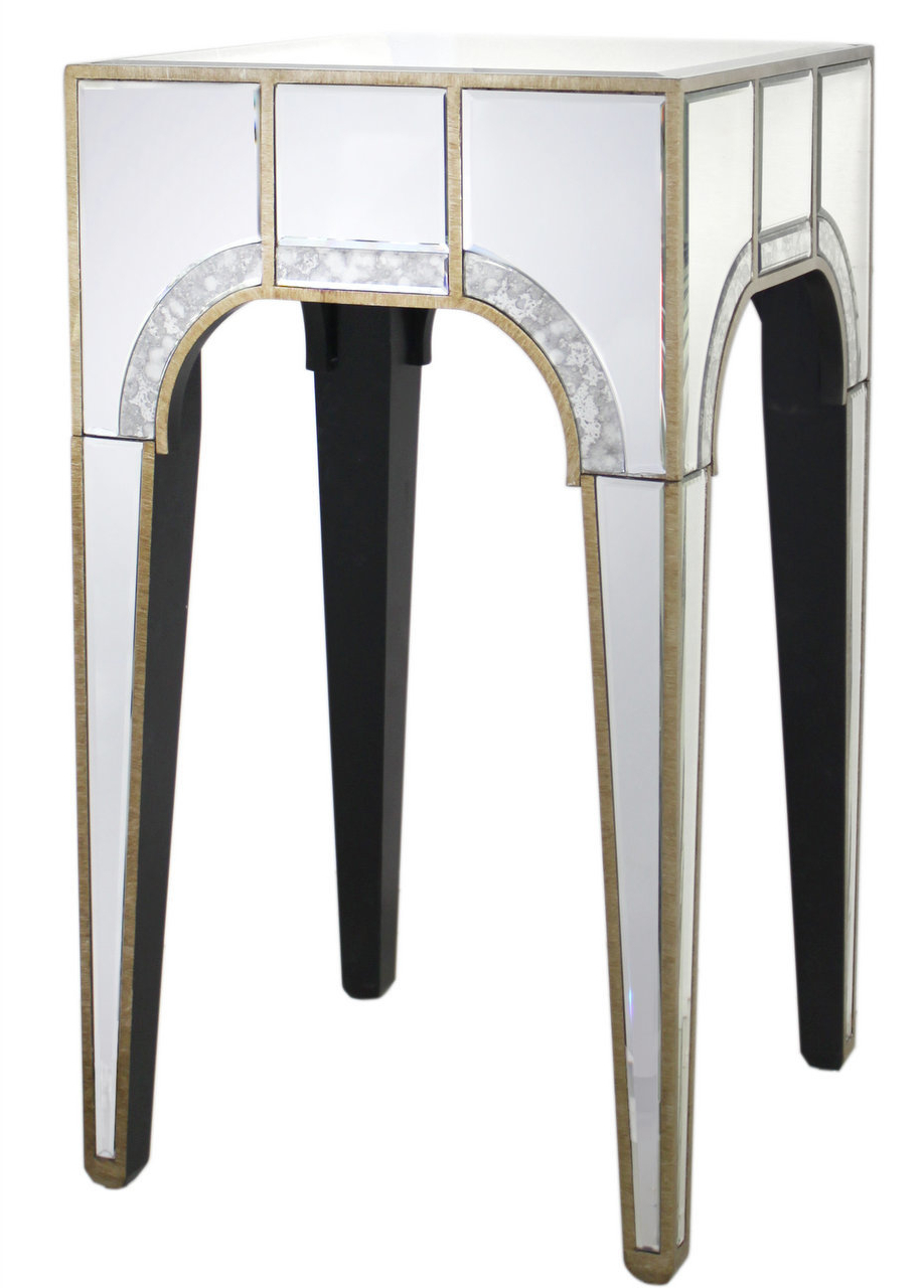 Art Deco Floor Lamp | Wayfair.co.uk Within Scattered Geo Console Tables (Gallery 15 of 20)