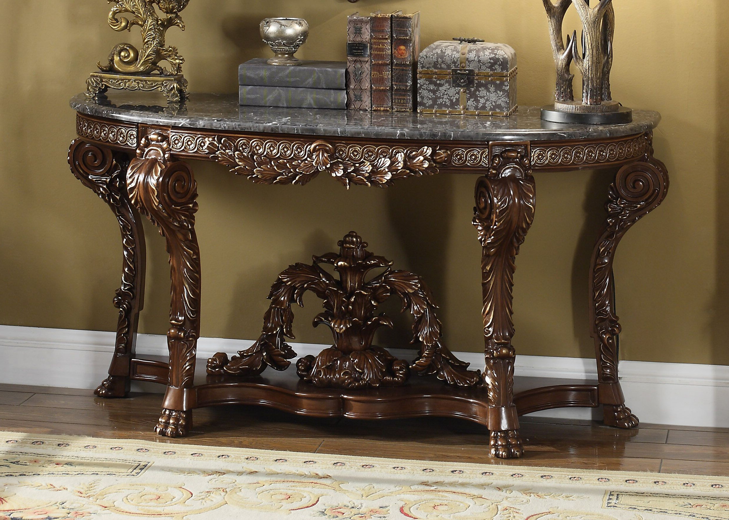 Astoria Grand Kaster Console Table | Wayfair With Oscar 60 Inch Console Tables (Gallery 8 of 20)