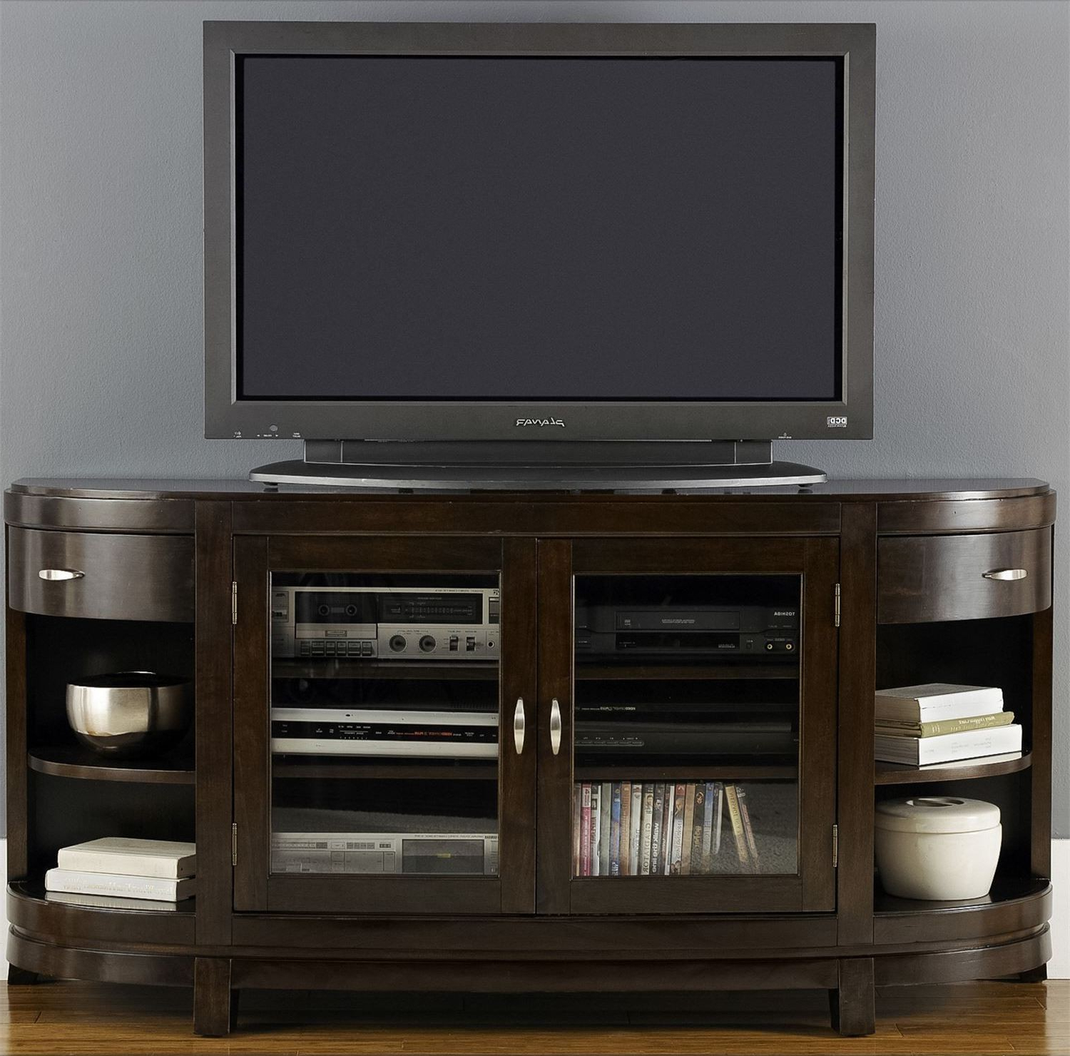 Avalon Entertainment Tv Stand From Liberty (505 Tv67) | Coleman Intended For Abbot 60 Inch Tv Stands (View 8 of 20)
