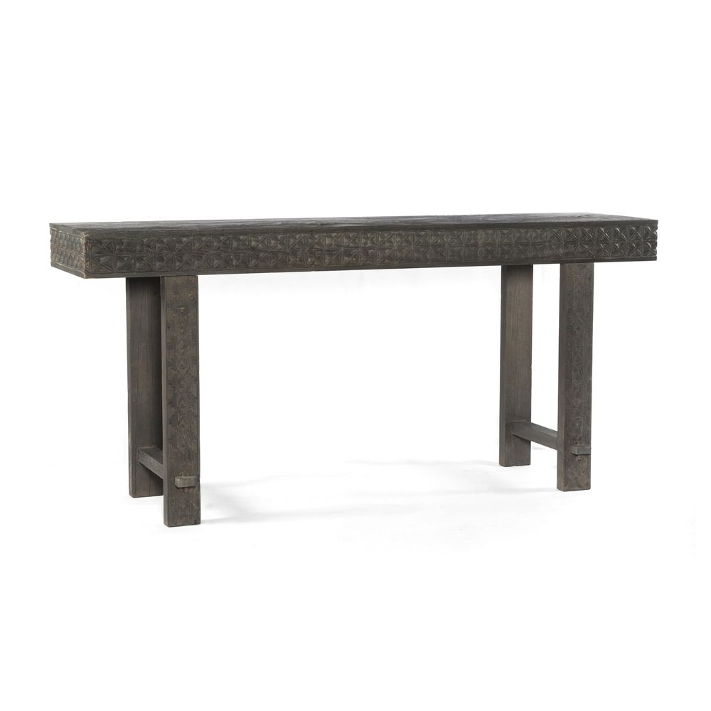 Balboa Carved Console Table | Console Tables, Consoles And Products In Silviano 60 Inch Iron Console Tables (Gallery 11 of 20)