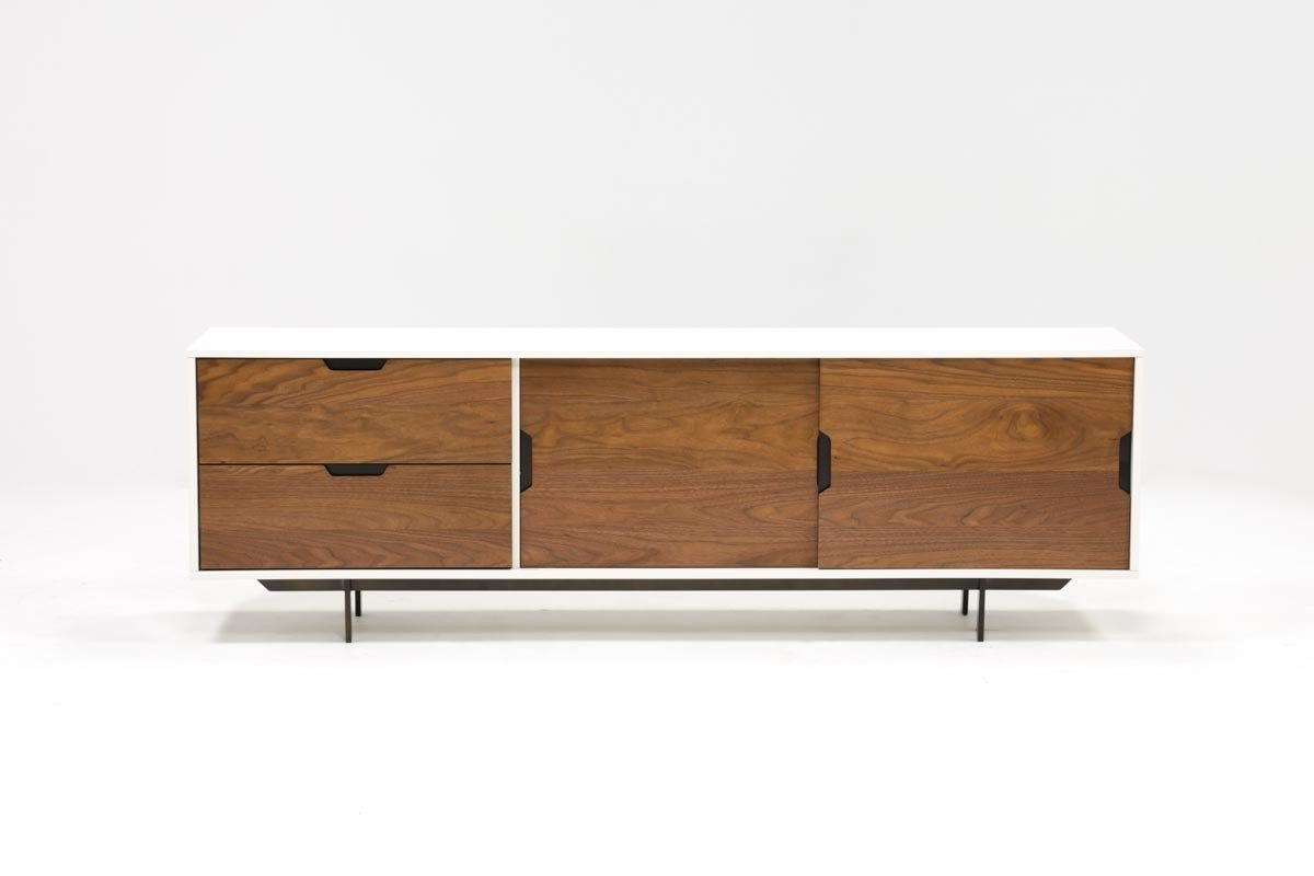 Bale 82 Inch Tv Stand | Living Spaces Throughout Draper 62 Inch Tv Stands (View 10 of 20)