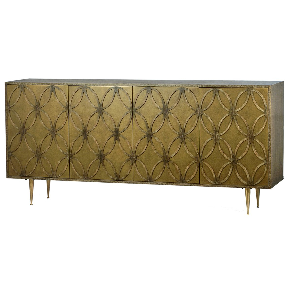 Bardwell Sideboard | Celadon Regarding Burnt Oak Metal Sideboards (Gallery 8 of 20)