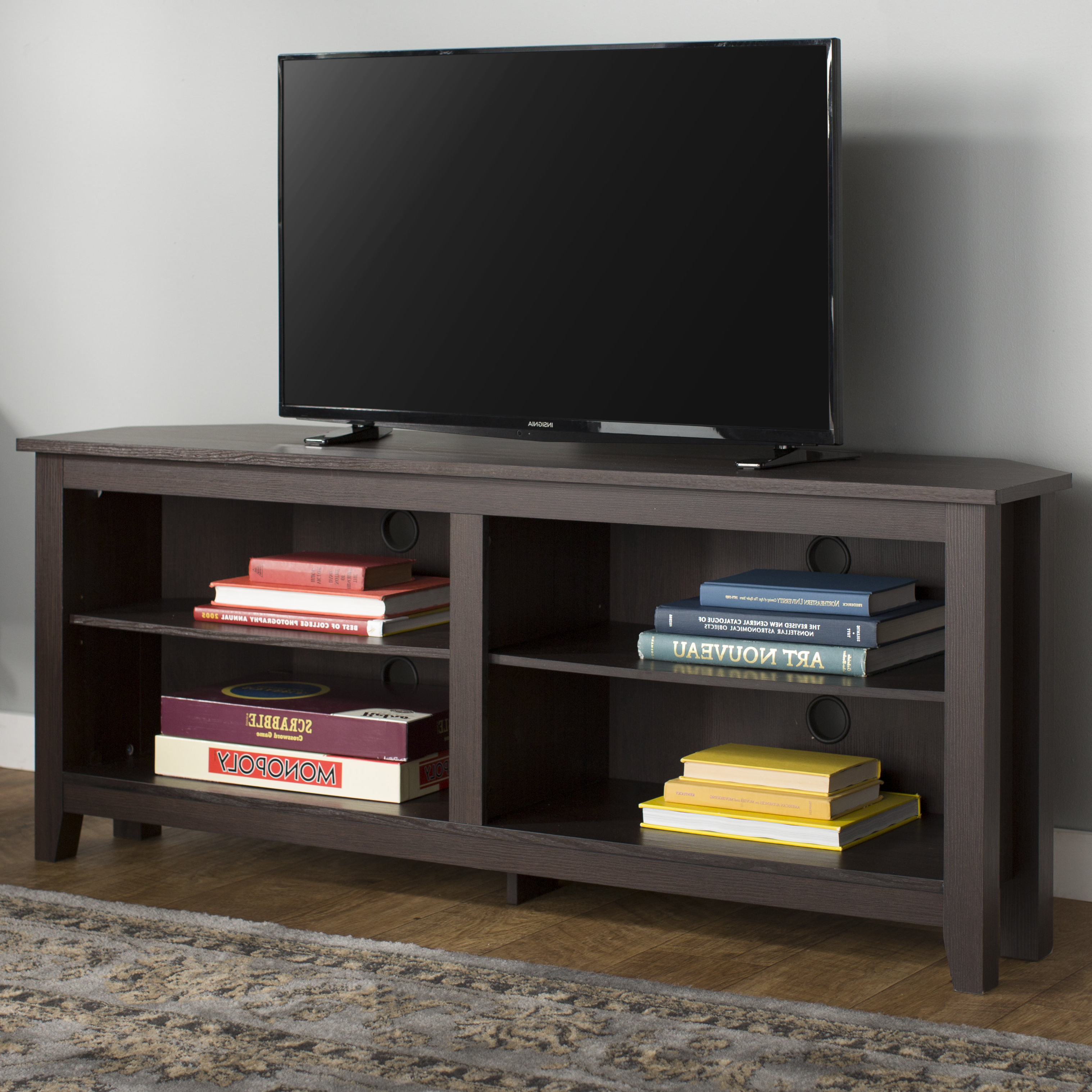 """Beachcrest Home Sunbury Tv Stand For Tvs Up To 60"""" & Reviews 