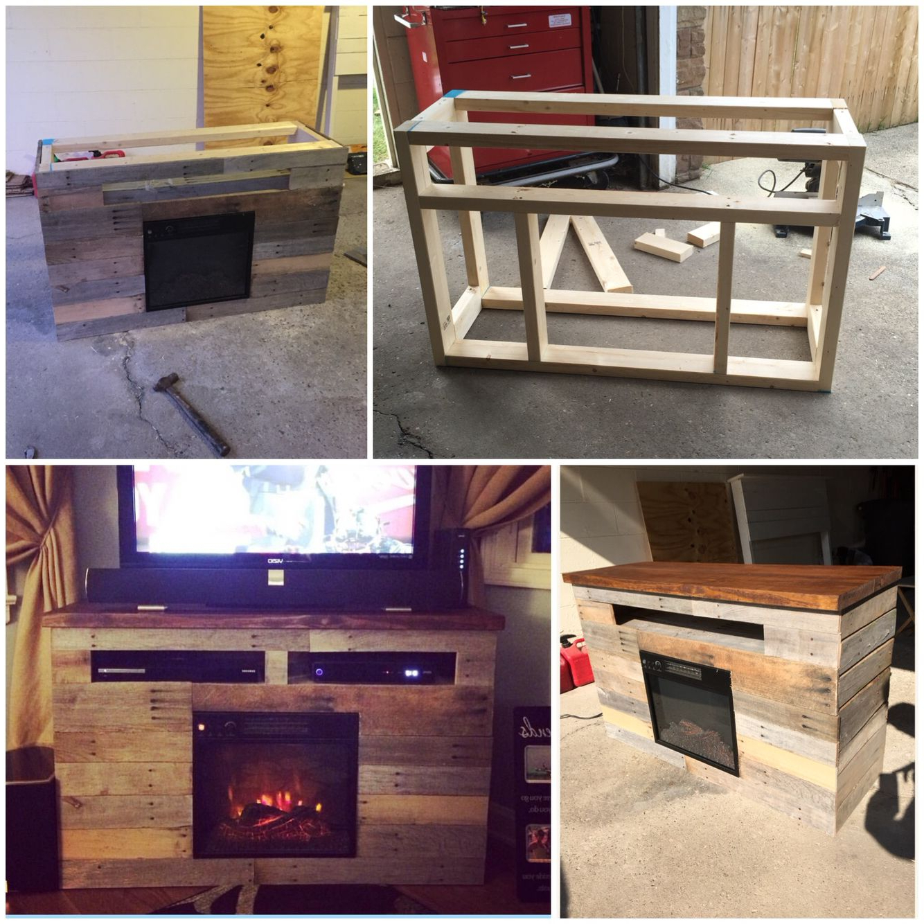 Best Pallet Projects | Pallet Tv Stands & Entertainment Centers Inside Marvin Rustic Natural 60 Inch Tv Stands (Gallery 7 of 20)