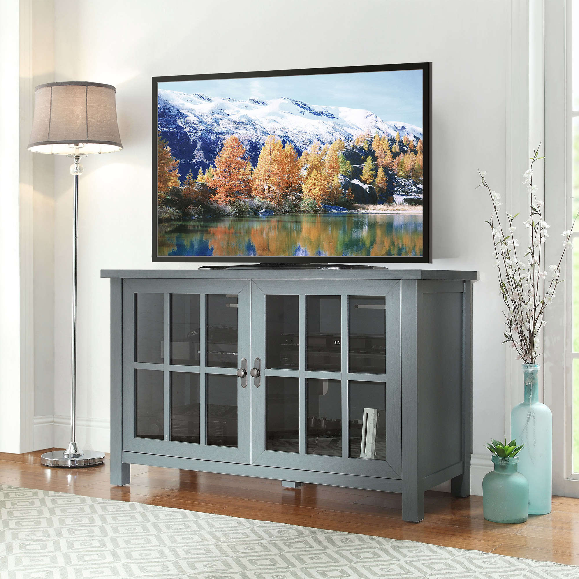 Better Homes And Gardens Oxford Square Tv Console For Tvs Up To 55 Intended For Oxford 60 Inch Tv Stands (Gallery 17 of 20)