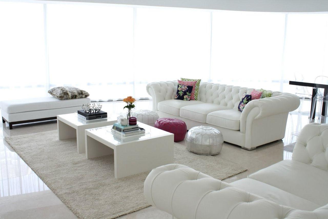 Beyaz Ev Dekorasyonu Önerileri İçinizi Ferahlatan Aydınlık Bir Ev Regarding Dixon White 65 Inch Tv Stands (Gallery 15 of 20)