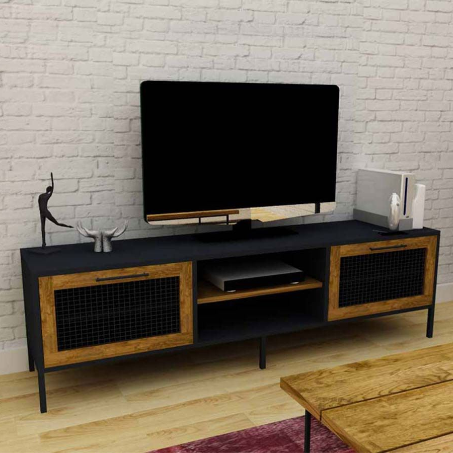 Boston Tv Ünitesi | 140 Cm | Koçtaş For Cato 60 Inch Tv Stands (View 6 of 20)