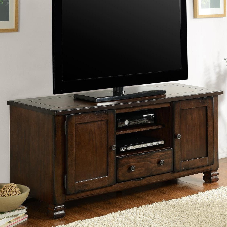 "Brackenridge 54"" Tv Stand #tvstandideasforlivingroom | Tv Stand Diy Regarding Sinclair Grey 64 Inch Tv Stands (View 11 of 20)"