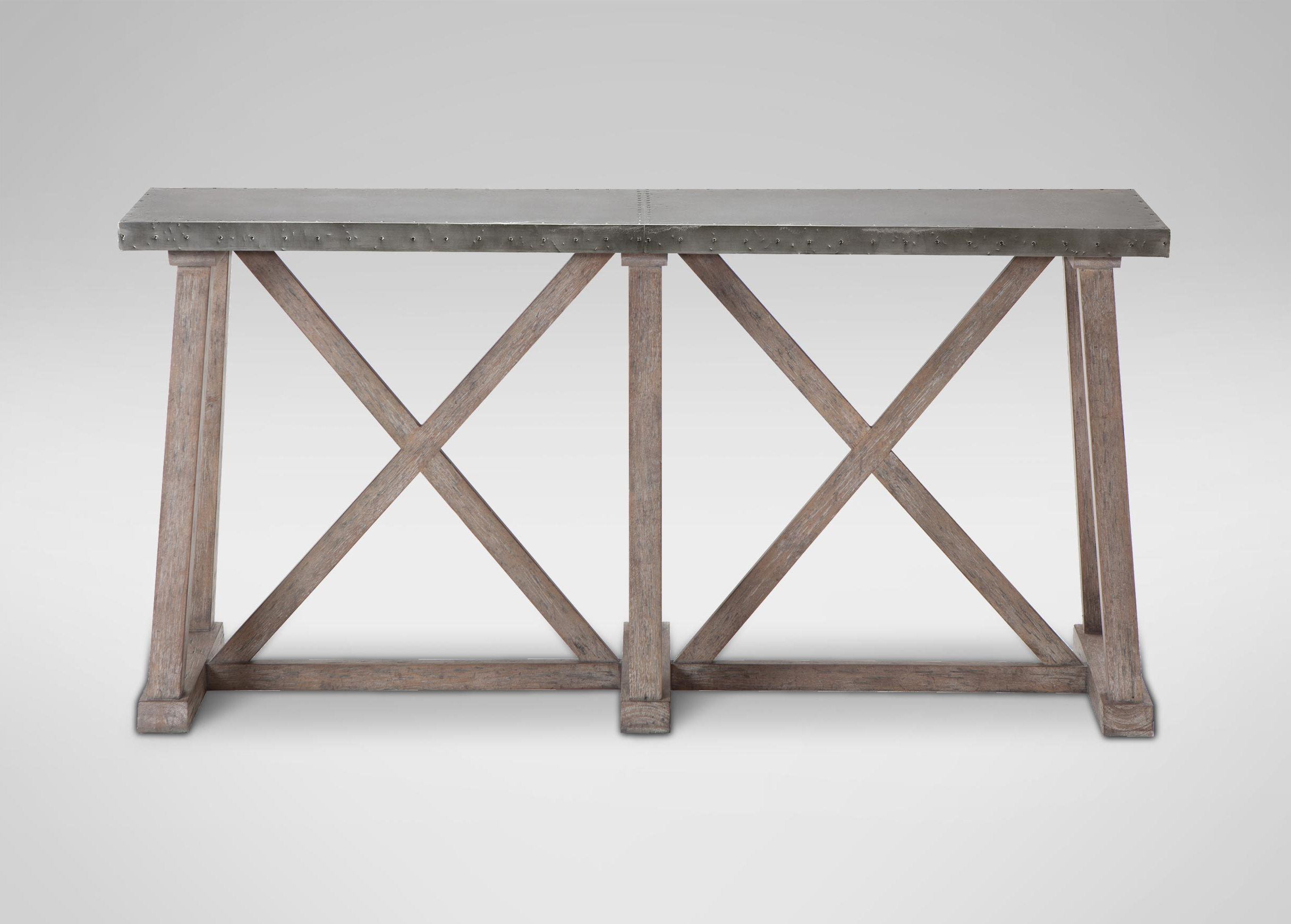 Bruckner Metal Top Console Table Console Tables Ethan Contemporary Within Ethan Console Tables (View 16 of 20)