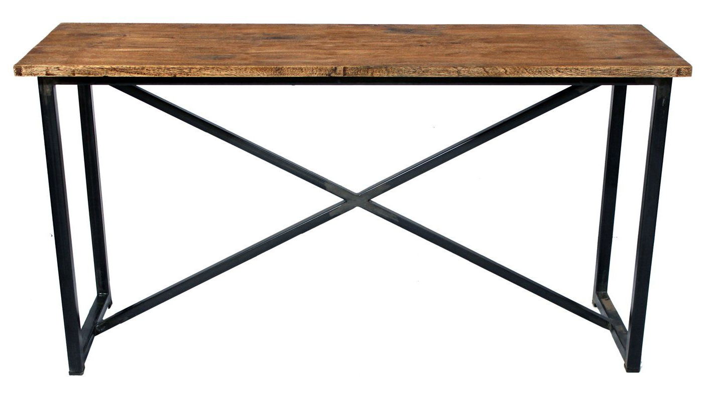 Bryana Rectangle Console Table In 2018 | Project: Herriott Throughout Silviano 84 Inch Console Tables (View 14 of 20)